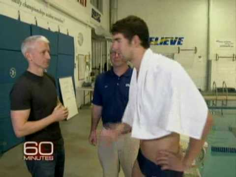 Anderson Cooper vs. Michael Phelps