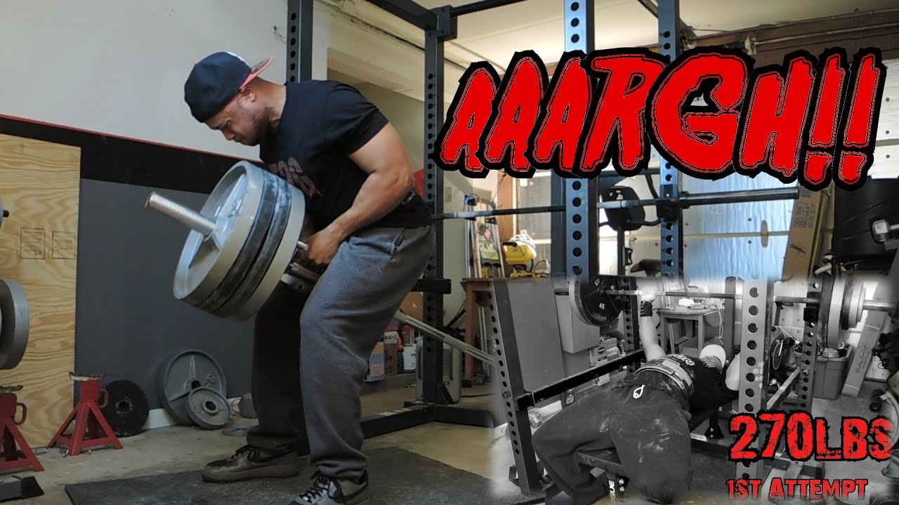 upper body backchestdelts bis workout 270lb 122kg bench