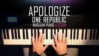 How To Play One Republic Apologize Piano Tutorial Lesson Sheets.mp3