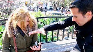 Amazing Street Magic In New York!!! Daniel Fernandez