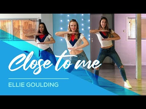 Close To Me- Ellie Goulding - Easy Fitness Dance Video - Choreography