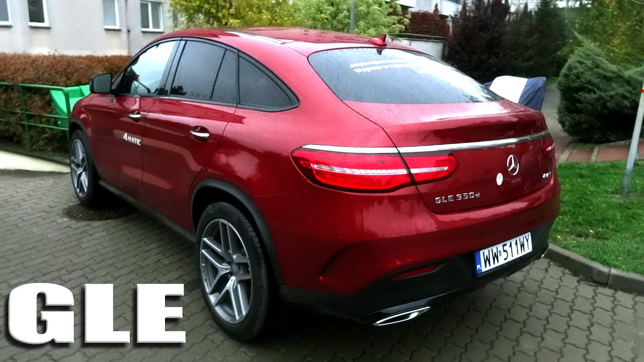 2016 2015 Mercedes Benz GLE Coupe 350d 4Matic AMG Test [PL] Recenzja