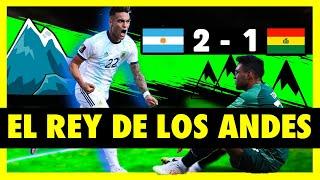 ARGENTINA VS BOLIVIA - ANÁLISIS (2-1) - ELIMINATORIAS SUDAMERICA 2020