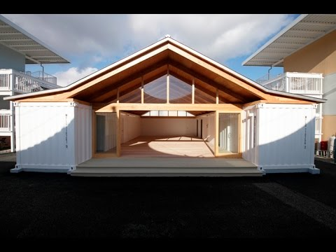 Shigeru Ban S Temporary Onagawa Housing Is Made From Paper