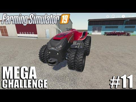 MEGA Equipment Challenge 2.0   Timelapse #11   Nebraska Map   FS19   Farming Simulator 19
