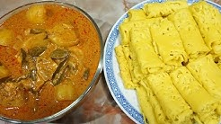 ROTI JALA & CHICKEN CURRY RECIPE