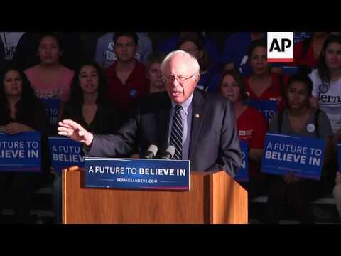Sanders upbeat despite Nevada loss