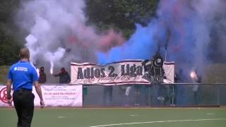 Adios 2. Liga! Pyrotechnik + Spruchband  (MSC)