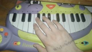 Bokutachi wa hitotsu no Hikari Cat Piano cover