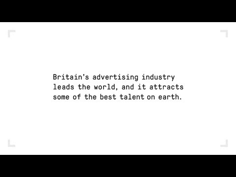 A Great Advert for Britain: London - A global hub for advertising talent