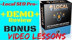 Local SEO Pro Review Demo + Bonus Andy Black