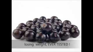 The Best Product To Lose Weight 'Acai Berry'
