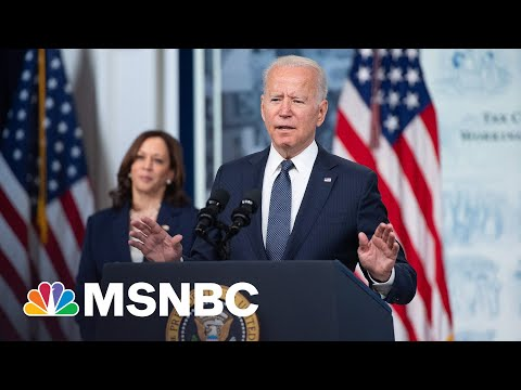 Biden Hopes Child Tax Credit Payments Will Help 'Reduce Child Poverty'