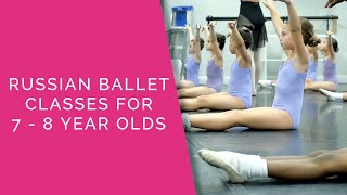 Ballet 3 Class for 7 - 8 Year old Kids in Orlando - Russian Ballet - Orlando, FL