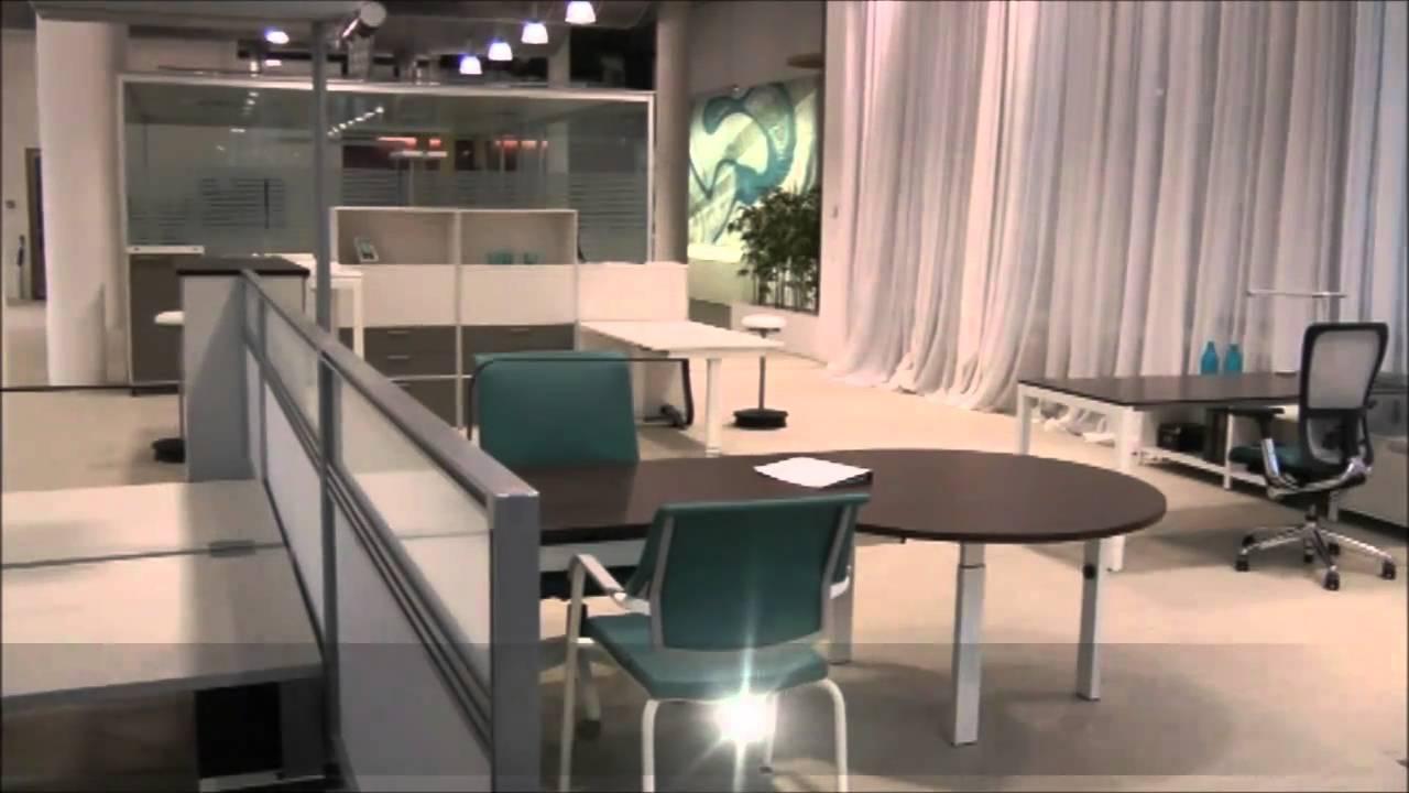 haworth showroom zurich mobilier de bureau youtube. Black Bedroom Furniture Sets. Home Design Ideas