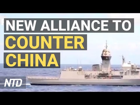 US Aims For New Alliance To Counter China In Indo-Pacific; China To Expand Military Overseas | NTD