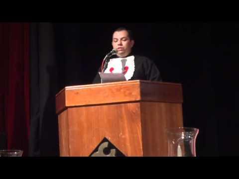 Discurso do Orador José Antonio Cordeiro - Colação de Grau - Facisa 2011.2