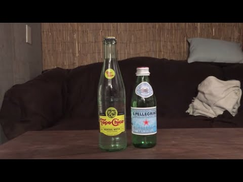 Jon Drinks Water #4817 Topo-Chico Mineral Water VS S.Pellegrino Sparkling Mineral Water