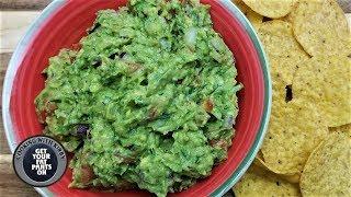 How to Make Authentic Mexican Guacamole - Easy Guacamole Recipe - Mexican Food