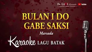 BULAN I DO GABE SAKSI   Marsada Trio   KARAOKE creat by.Jose Simamora