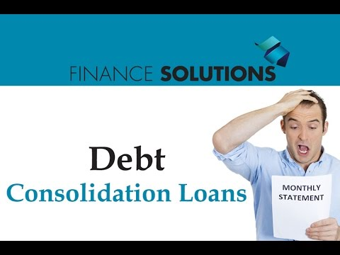 Finance Solutions – Debt Consolidation Loans