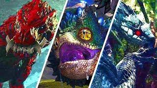 Monster Hunter World - All Monsters Boss Fight Gameplay (So Far)