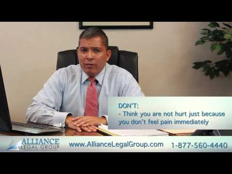 Bradenton, FL Personal Injury Lawyer | Scene of Accident Do's and Don'ts | Palmetto 34220
