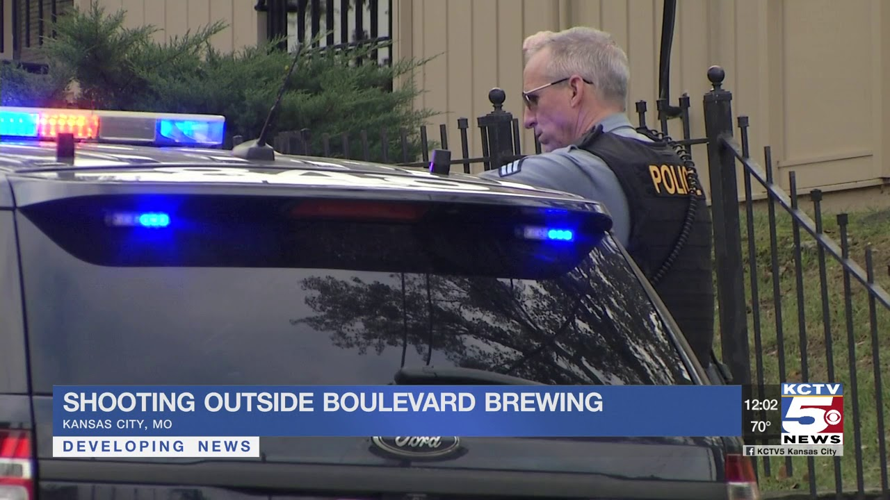 Shooting reporting outside Boulevard Brewing in Kansas City