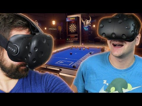 Sports Bar VR #1 - Bilard z Bonkolem HTC VIVE VR