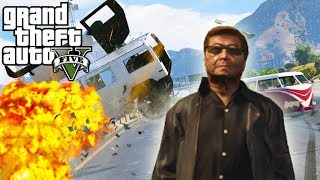 Chang Destroys Driving School (GTA 5 ROLEPLAY)