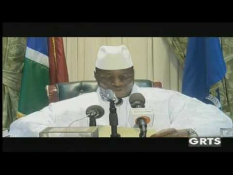Longtime Leader Yahya Jammeh Announces Decision to Step Down