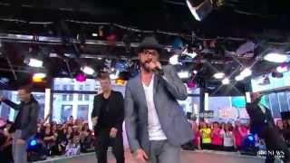 "2013-05-15 - Backstreet Boys on GMA ""Everybody Backstreet"