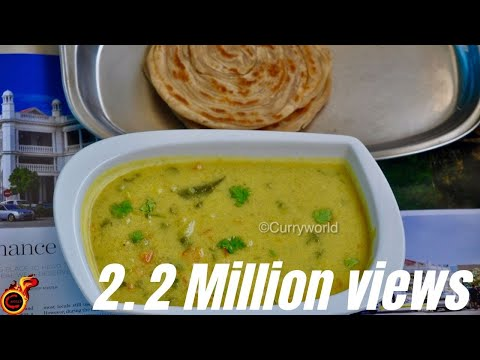 Hotel Saravana Bhavan Style Veg Kurma/Zero Oil Healthy Vegetable Kuruma .Recipe no 159
