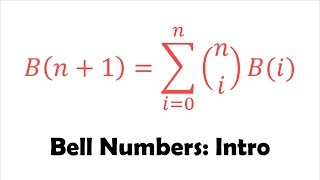 🔔 Bell Numbers and Its Recurrence Relation (Proof)