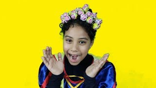 تسريحة جميلة للشعر مع مرام ومازن - Hairstyle Chupa Chups Lollipops