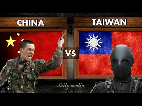 China vs Taiwan - Military Power Comparison 2017 (Latest Upd