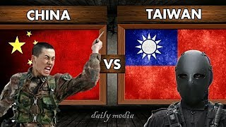 China vs Taiwan - Military Power Comparison 2017 (Latest Updates)