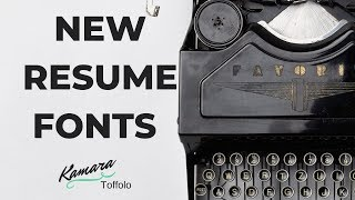 How to Download New Fonts to Word for Use in Your Resume