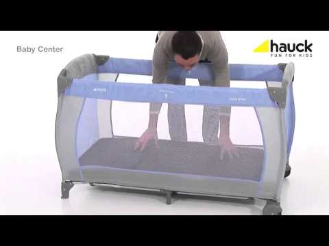 Hauck Babycenter 3 in 1 Travel Cot | How to Use And Review Video