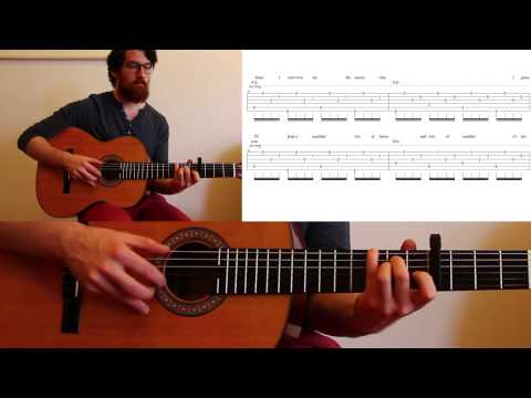 How to play Waiting Around to Die by Townes Van Zandt - Guitar tutorial / lesson