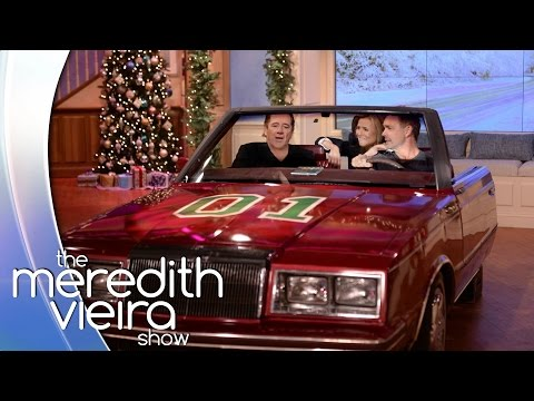 Tom Wopat & John Schneider Play Car-aoke | The Meredith Vieira Show