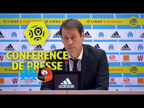 Conférence de presse Olympique de Marseille - Stade Rennais FC (1-3) - Ligue 1 Conforama / 2017-18