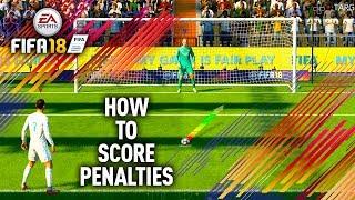 HOW TO SCORE PENALTIES ON FIFA 18! (FIFA 18 PENALTY TUTORIAL)