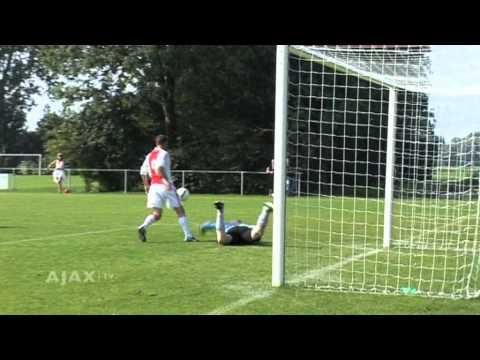 Frank de Boer, de ster van Lucky Ajax