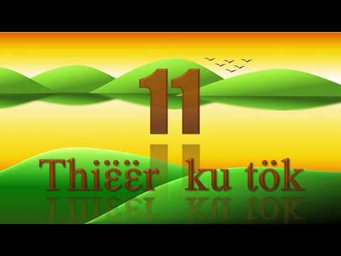 Learn Counting in Dinka Language for kids  from 1 to 20