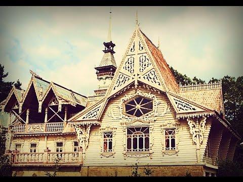 Russian Wooden Folk Architecture - Русская деревянная народная архитектура