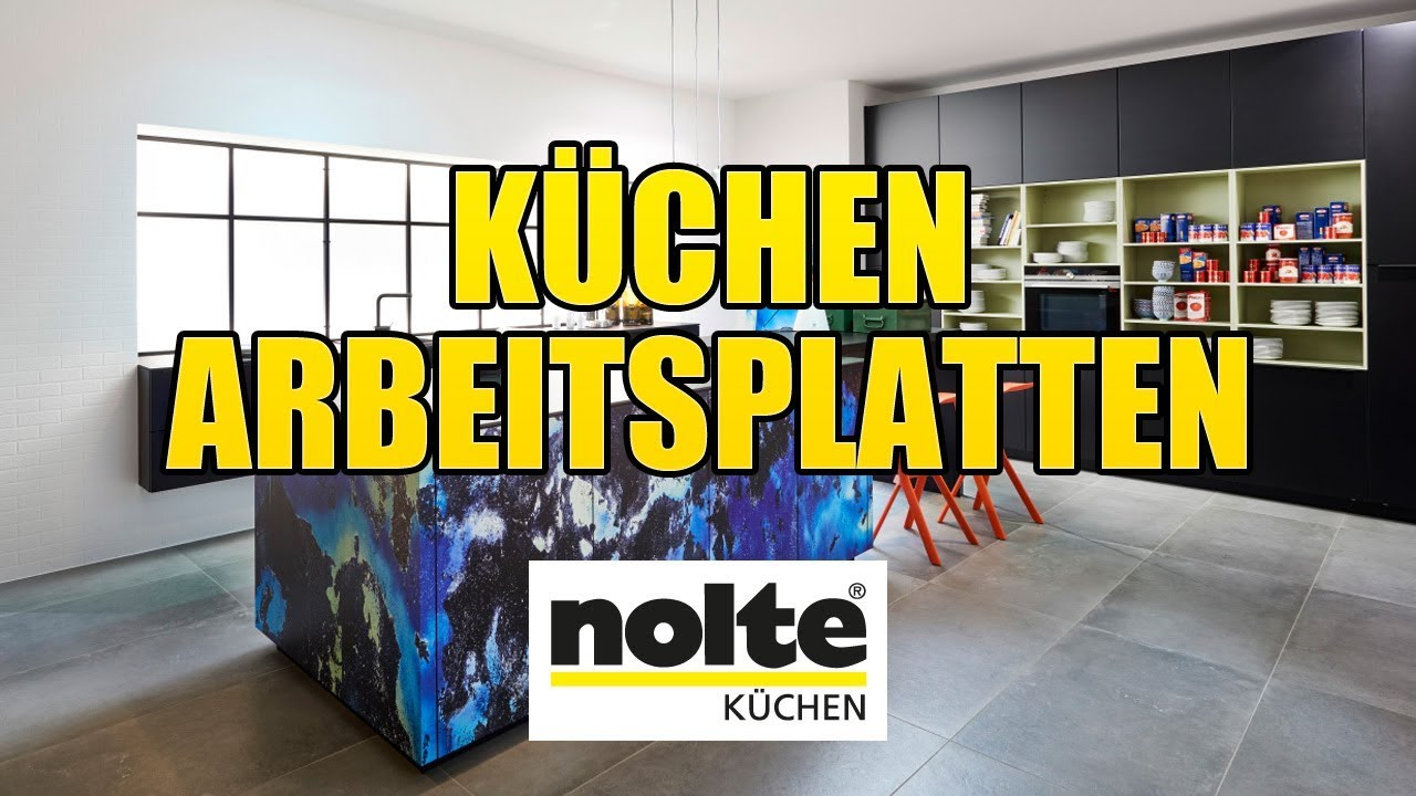 nolte k chen arbeitsplatten montagevideo youtube. Black Bedroom Furniture Sets. Home Design Ideas