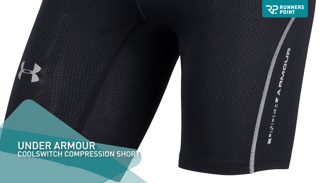 Under Armour COOLSWITCH COMPRESSION SHORT - YouTube 736b4361d7