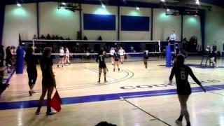 Gambar cover Brianna Larkin #6 Volleyball Play 2/7/15 Spiral 17