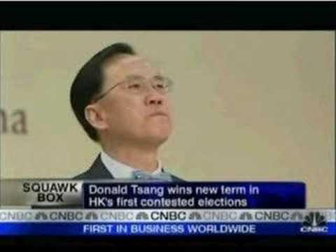 劉慧卿接受CNBC訪問